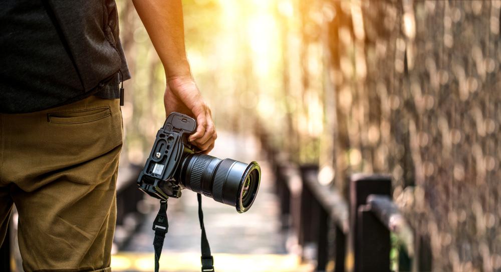 lavoro del fotografo